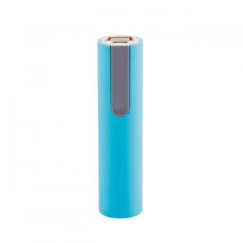 Зарядное устройство «Soft Touch» на 2200mAh, цвет голубой