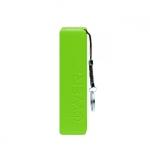 Зарядное устройство «Jive» на 2000mAh, цвет светло-зеленый