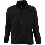 Флисовая куртка Sol's «North», цвет черный